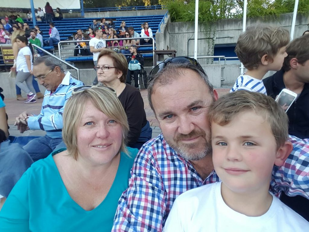 LAE Kids' Natasha Mason and family