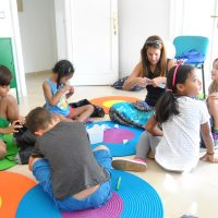 Kids 4 - 6 years. Children classrooms