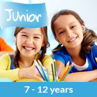 Spanish summer camp junior 7 - 12 years