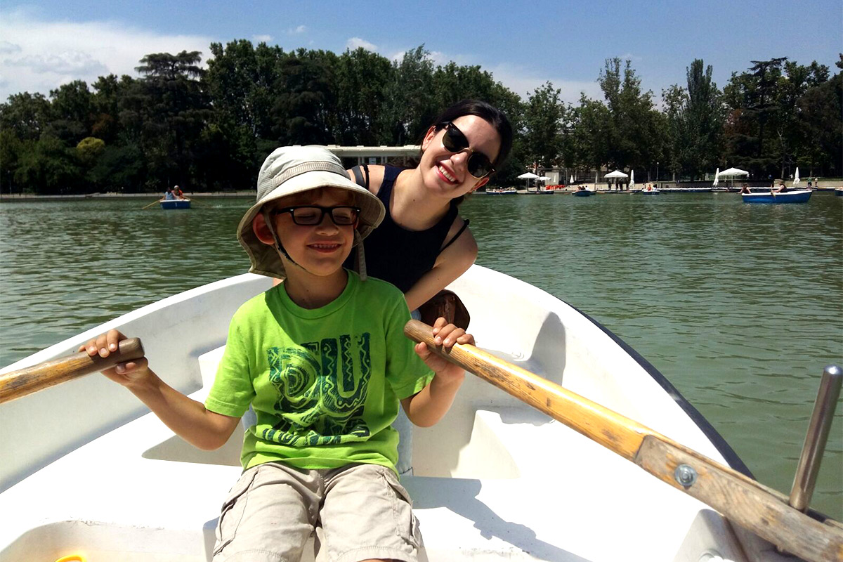 activities with kids in Madrid - barcas