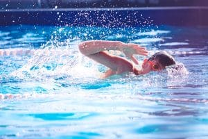 Swimming lessons for kids in Madrid